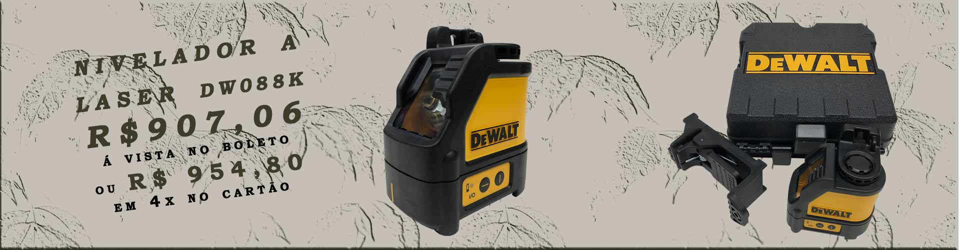 laser dewalt dw088k