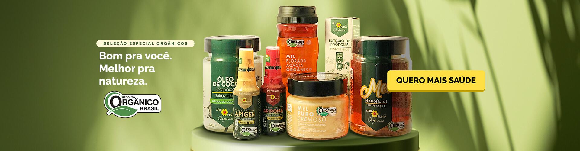 Seleção especial orgânicos