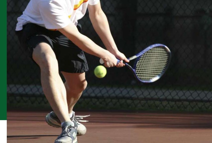 Produtos para tenistas