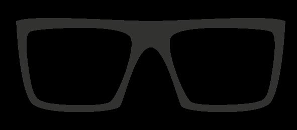 Óculos Estilo Quadrado