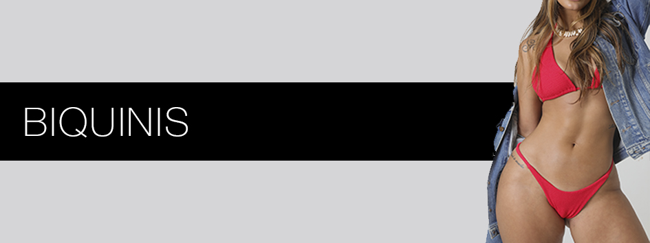 Banner informativo categoria de biquinis