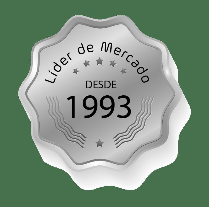 Imagem Lider de Mercado desde 1993
