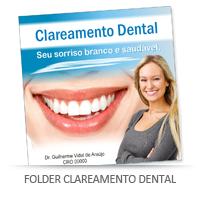 Folder clareamento dental