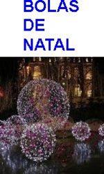 BOLAS ILUMINADAS DE NATAL