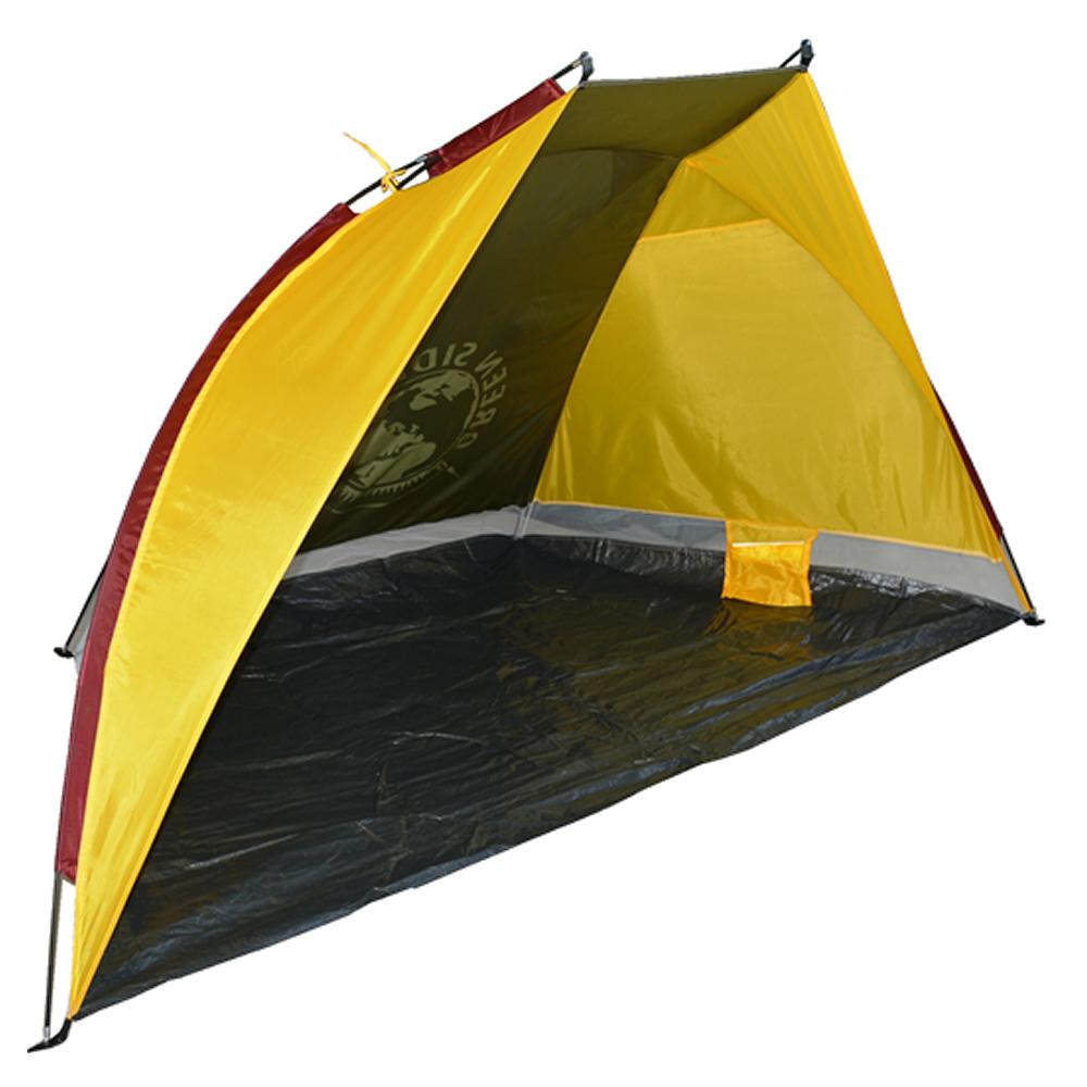 Barraca Beach Tent abrigo proteção sol vento p/praia camping CBR03617