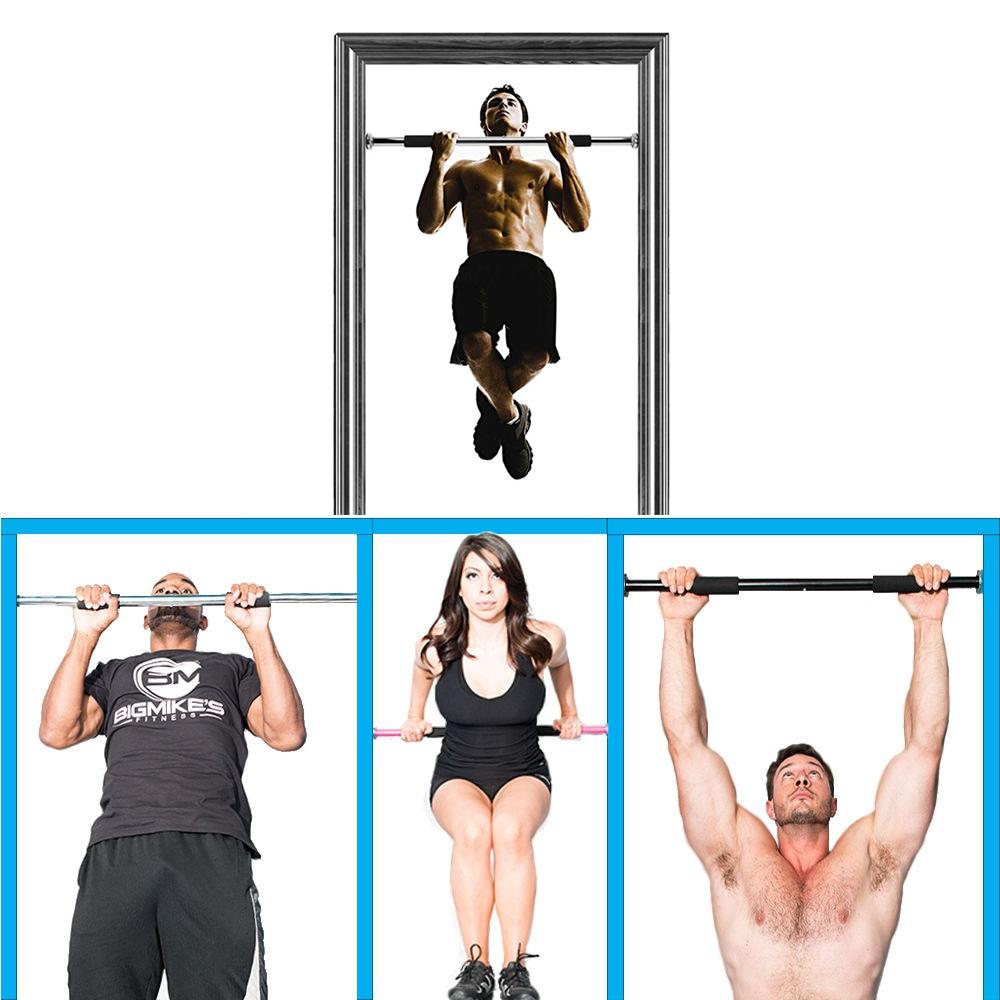 Barra de exercícios para porta regulável abdominal CBR03068