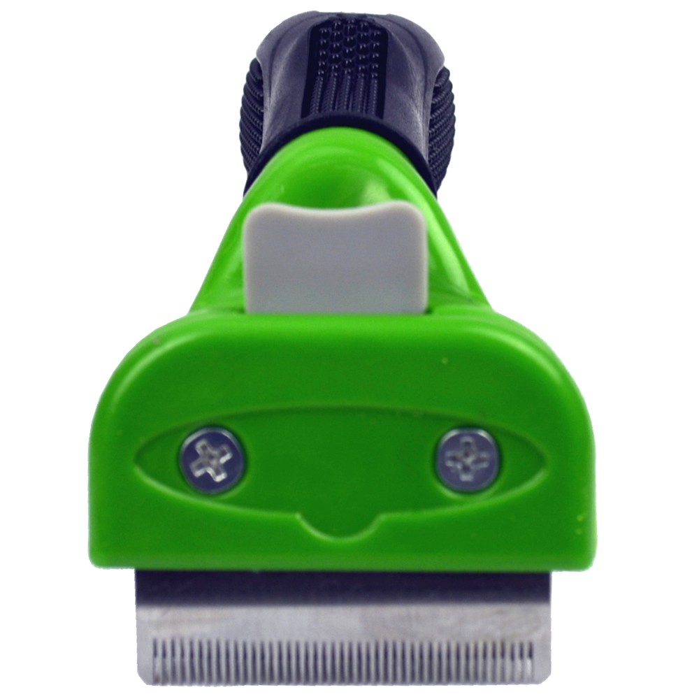 Escova tira pelos cachorros cães pequenos pelo longo CBR03631 verde