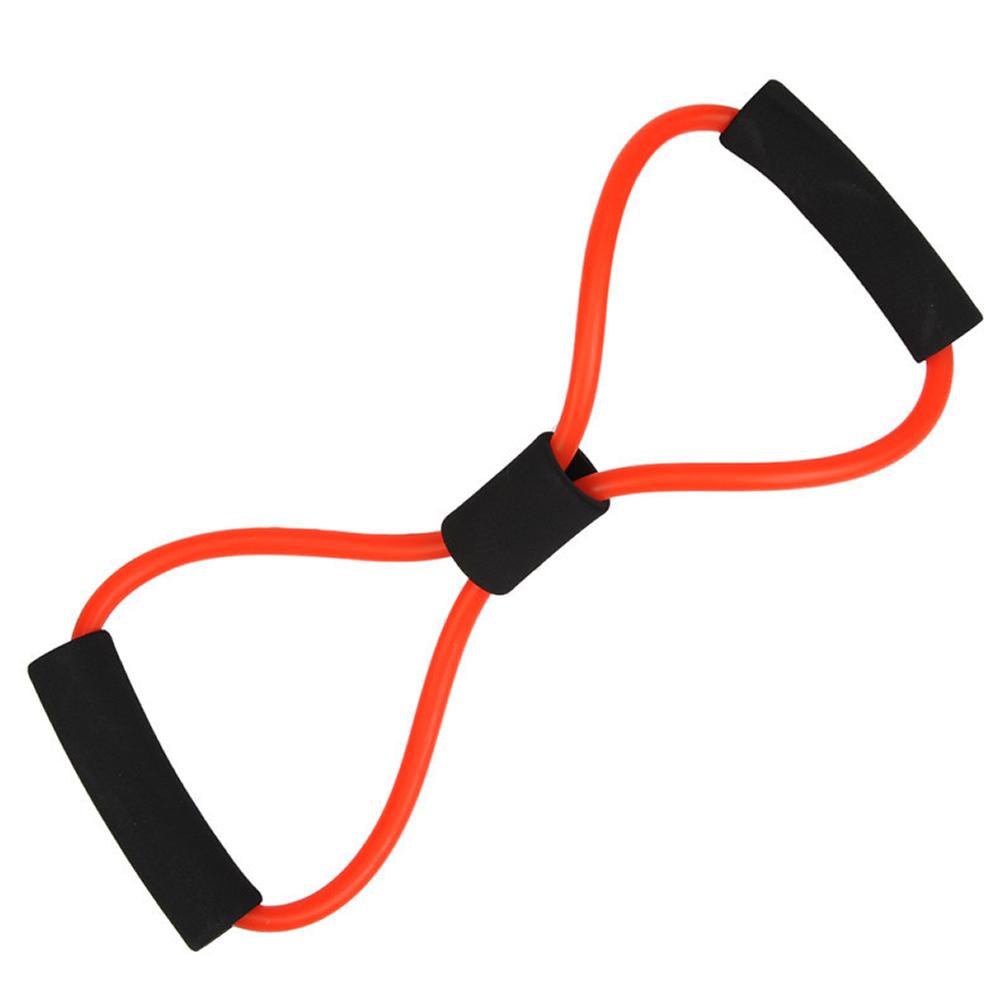 Extensor elástico para exercícios ginástica CBR03105 vermelho