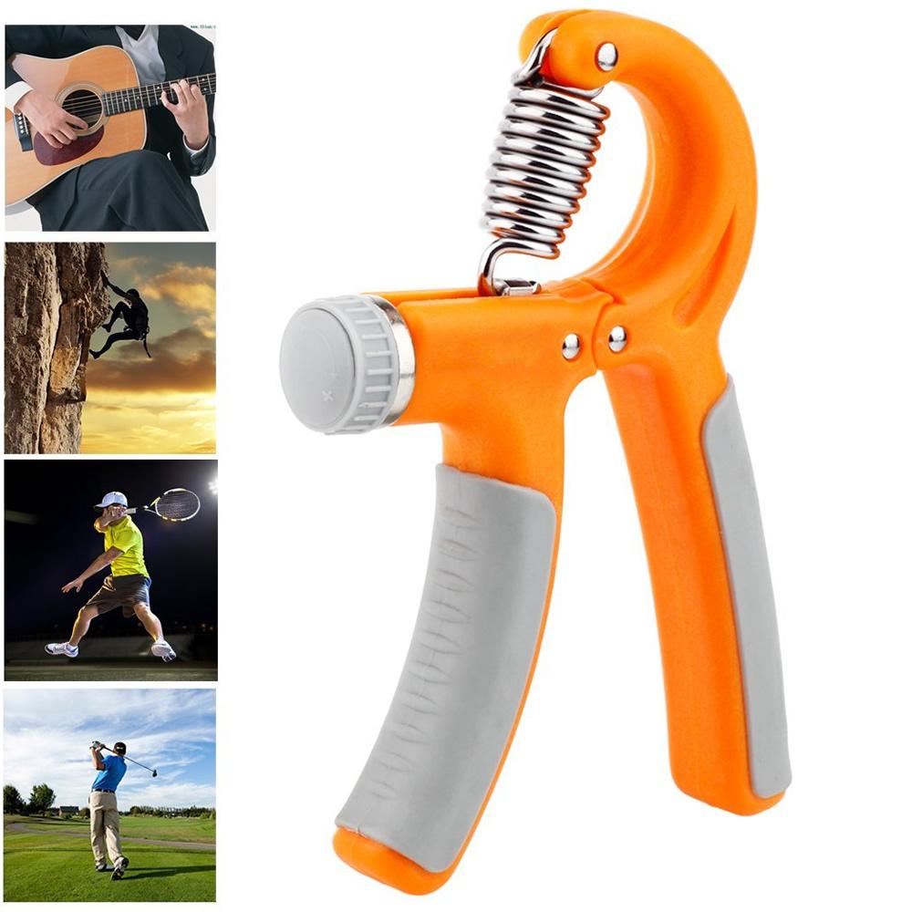 Hand Grip exercitador para mãos e punho 10 a 40 kgs CBR03082 laranja