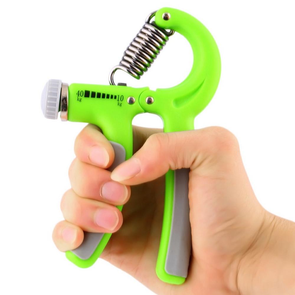 Hand Grip exercitador para mãos e punho 10 a 40 kgs CBR04232 verde