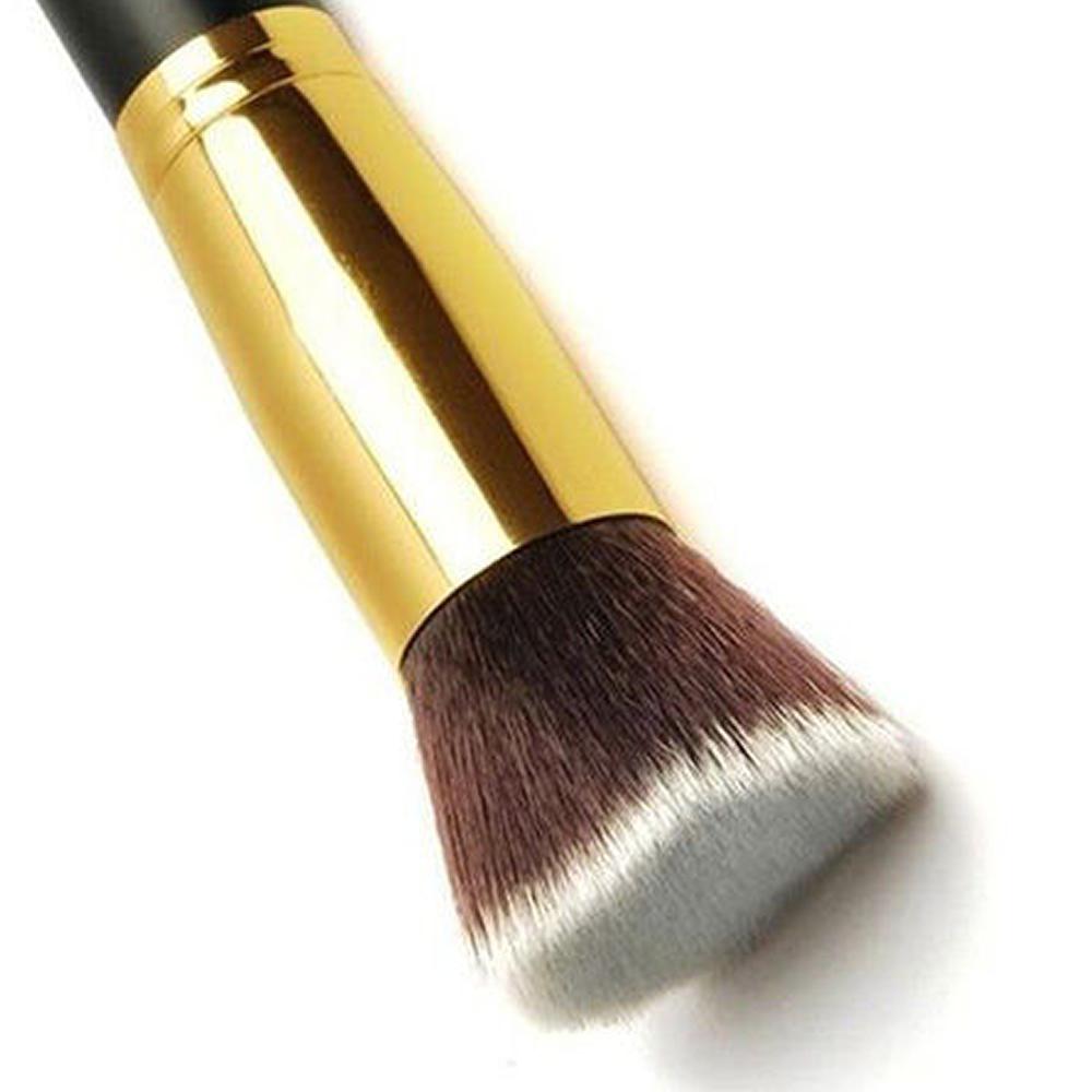 Pincel maquiagem kabuki reto para primer e base 1 peça CBR03488