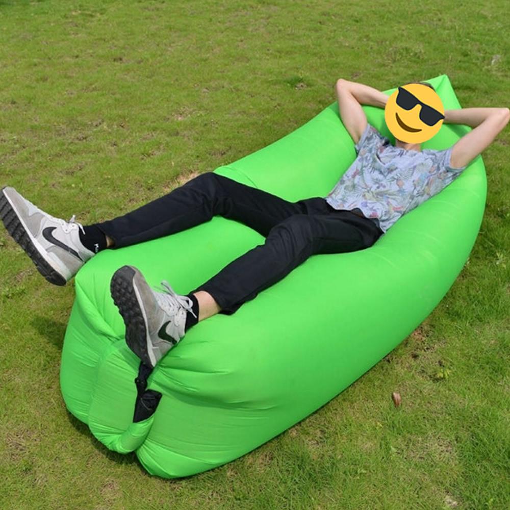 Sofa Inflavel Puff Magico com bolsa transporte