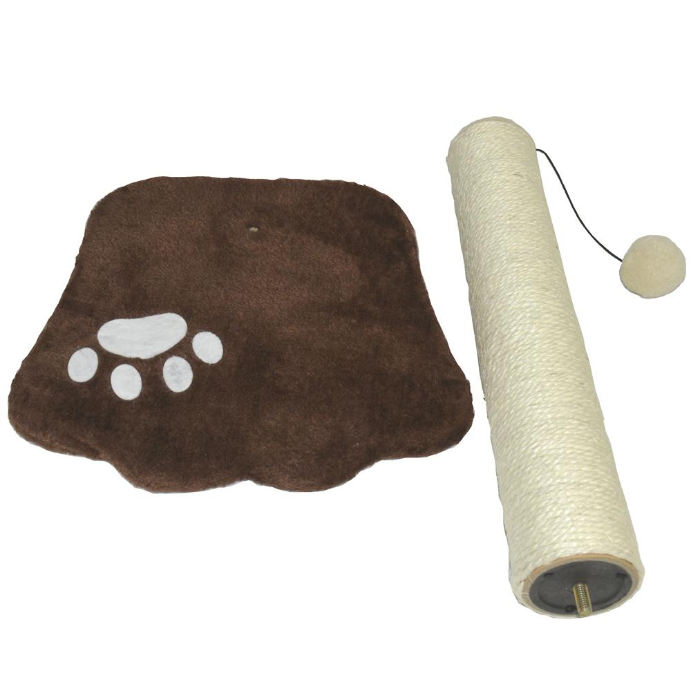 Brinquedo Arranhador para gatos marrom CBR04362