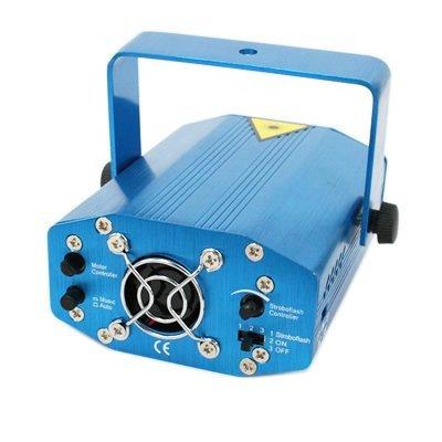 Projetor Holográfico a Laser Verde e Vermelho com Opção de Acionamento pela Música Bivolt 110V/220V 0870 no Suporte