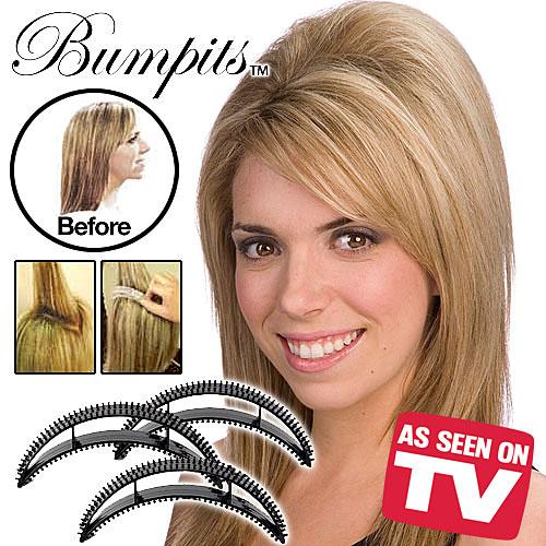 bumpits penteados