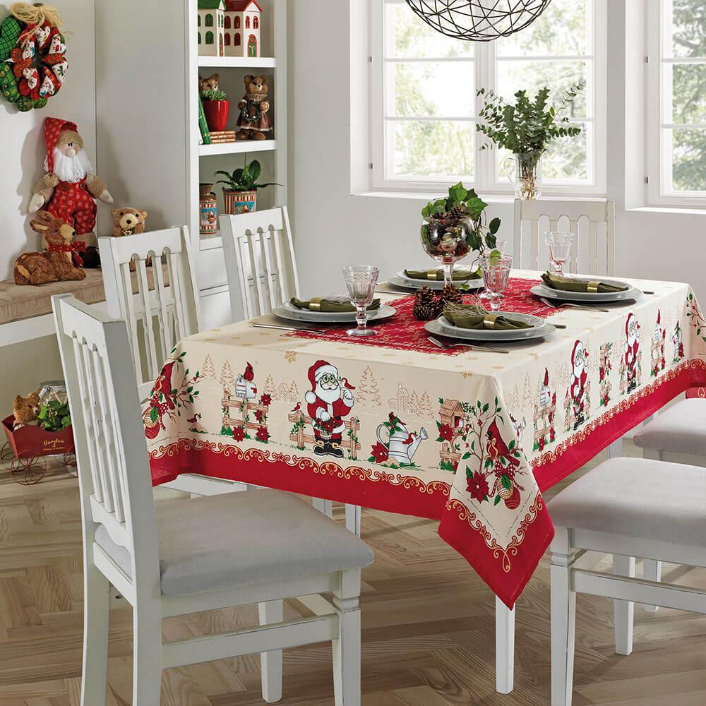 toalha de mesa de natal