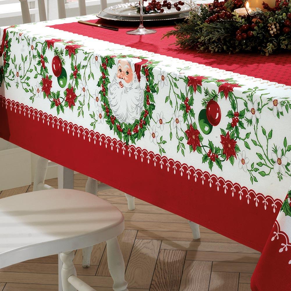 natal: toalha de mesa