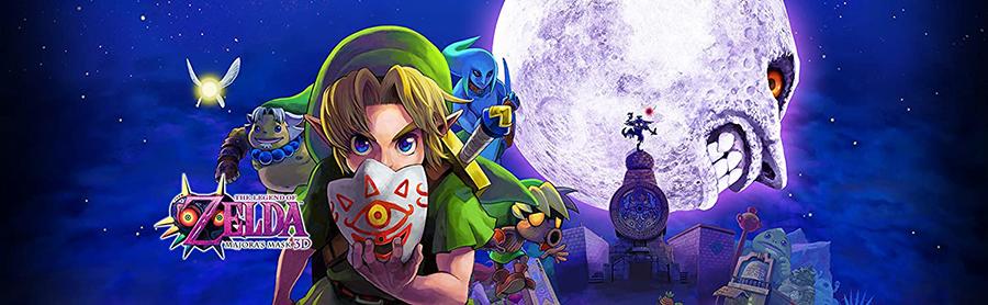 Legend of Zelda: Majora's Masks - 3DS