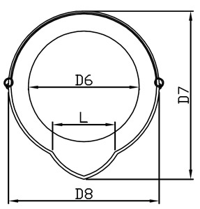 medidas balde inox com bico 2