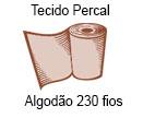 tecido 230 fios