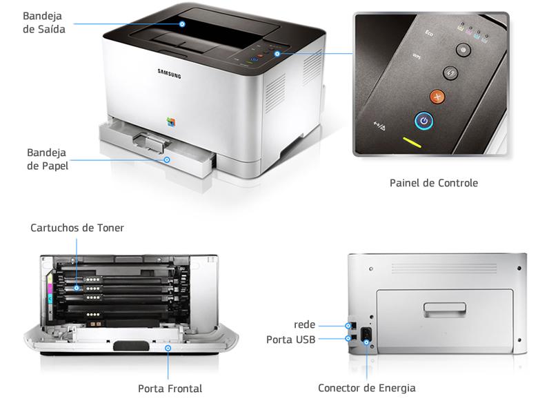Impressora Samsung ML-365w laser monocrom�tica - Casa Print