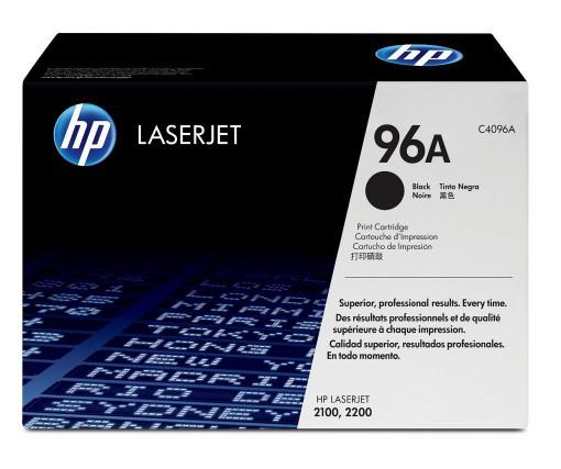 Toner HP 96A Original C4096A Black HP Laserjet 2100/ 2200