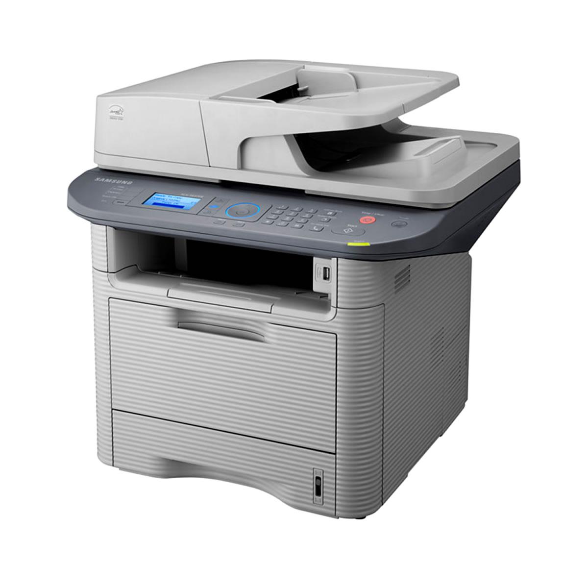 Multifuncional Samsung Laser SCX-5637FR Impressão  Digitalização  Cópia  Fax    Botão Eco 5a626606d4