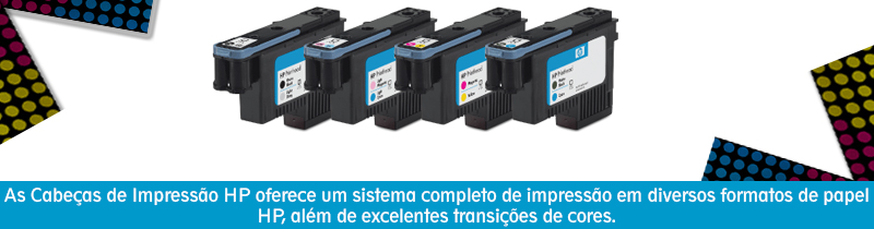 Cabe�a de Impress�o Original HP 11 C4810A Black HP Designjet 70/ 100/ 100plus/ 110plus/ 120/ 5004/ 500ps