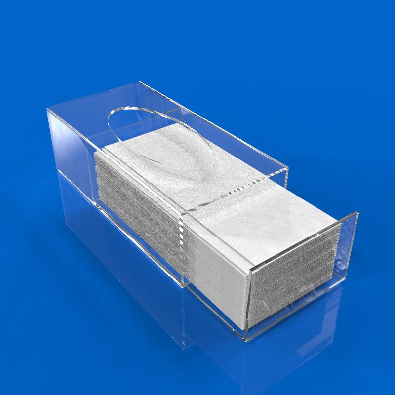 caixa acrilico