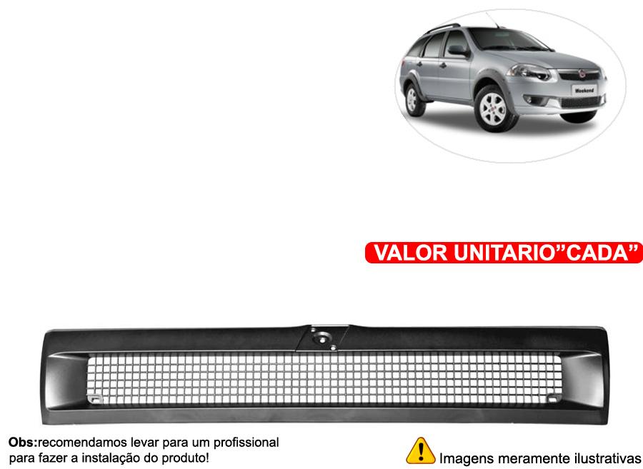 Grade Dianteira Fiat Tipo Todos - Cabeça Car