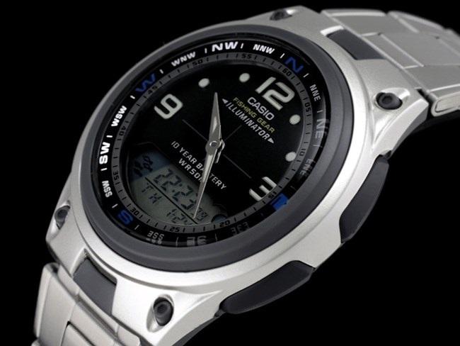 43051850a65 Modo Cronógrafo com faixa de operação de até 23h 59min e 59s. - Calendário  totalmente automático que faz compensações para meses de comprimento  diferentes e ...
