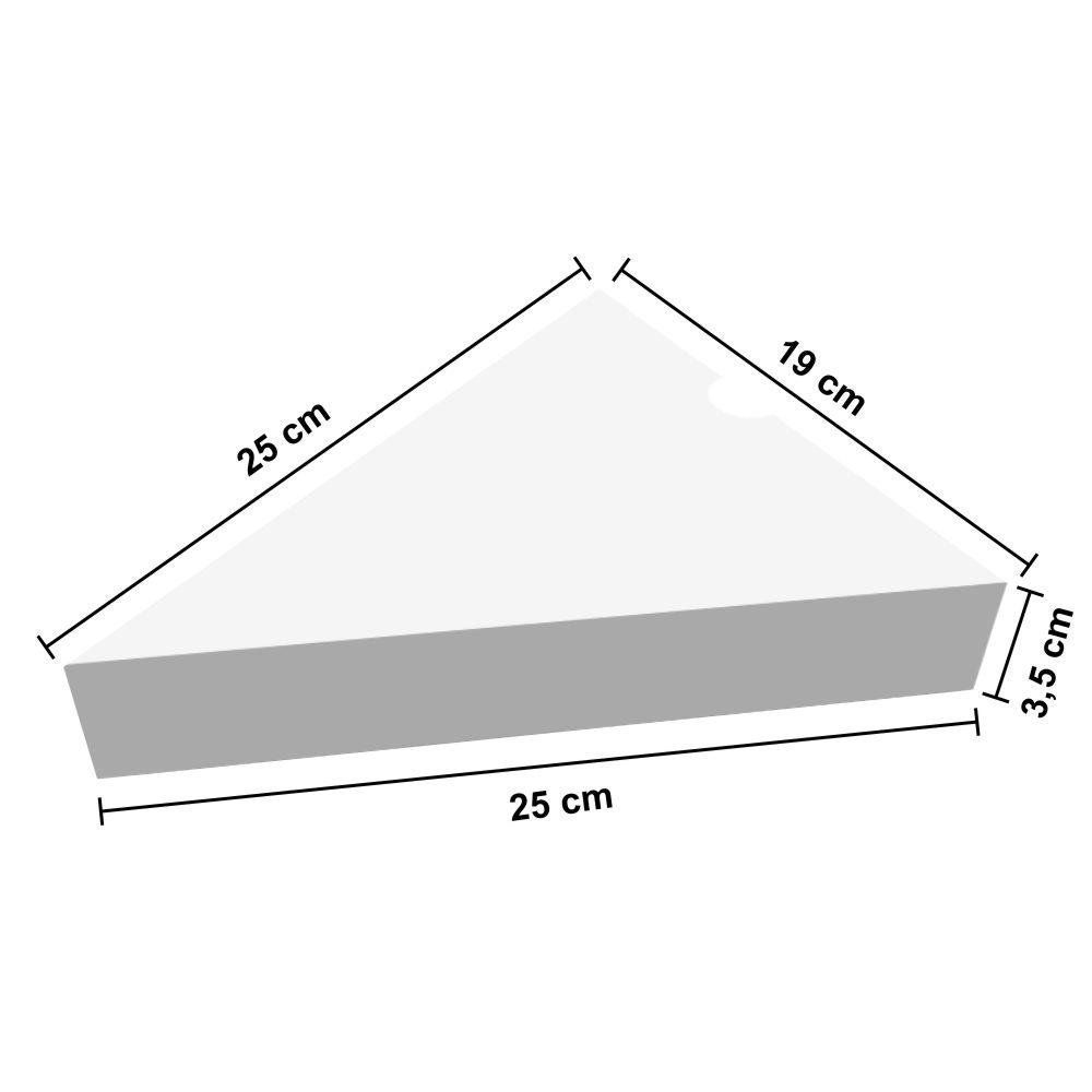 Dimensões da Caixa para Delivery de Fatia ou Pedaço de Pizza
