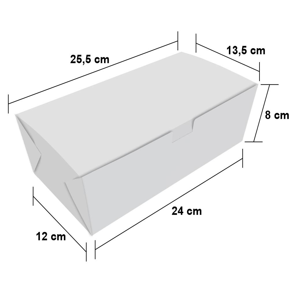 Dimensões da Embalagem Box Delivery para Combos