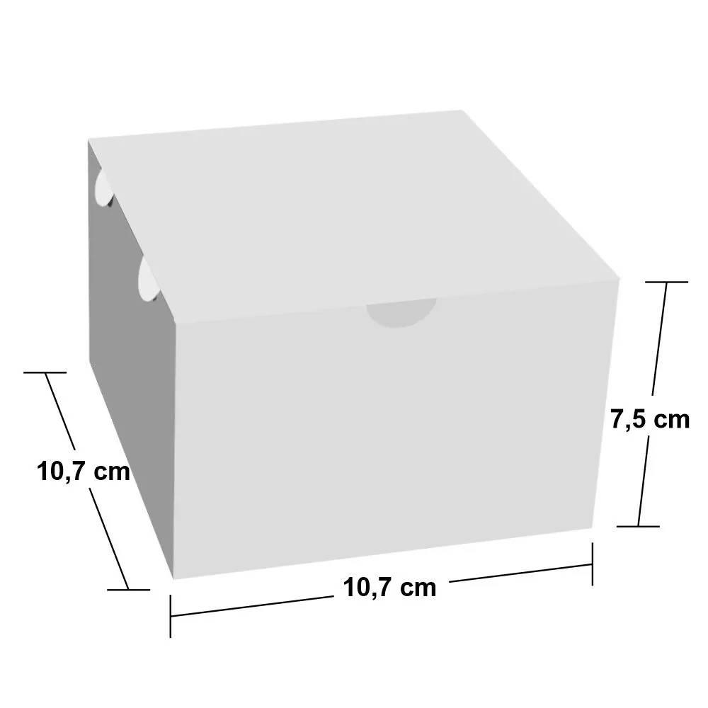 Dimensões da Embalagem Box de Hambúrguer PEQUENO