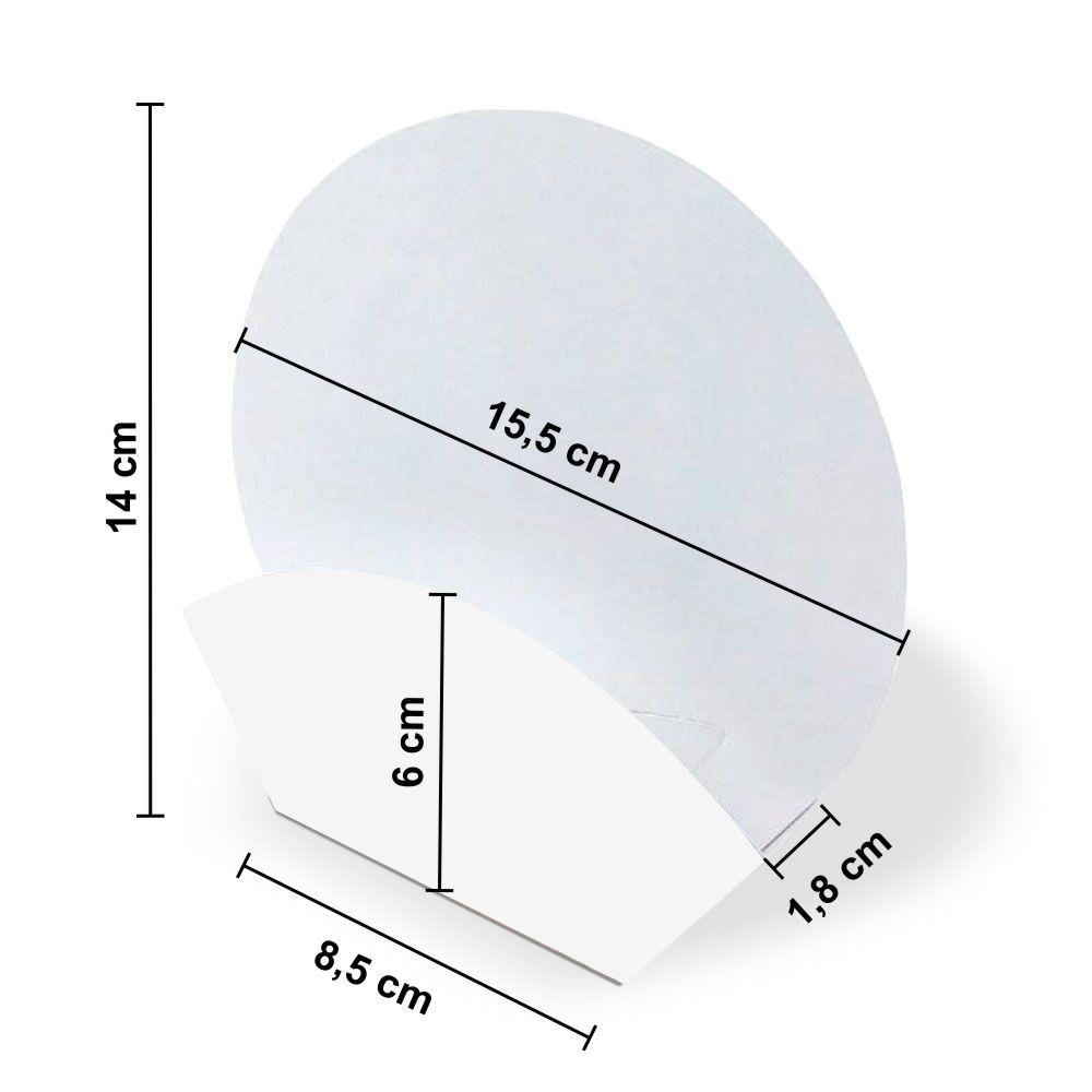Dimensões da Embalagem de Mini Pizza
