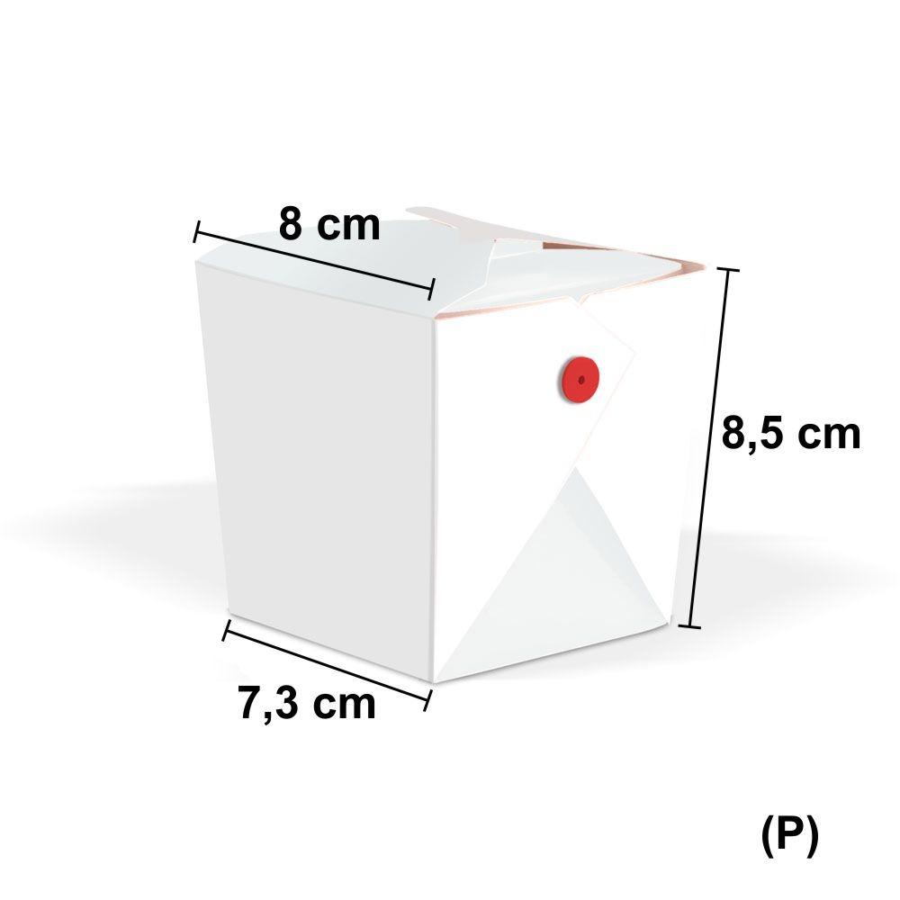 Tamanho co Box para Comida Oriental Yakisoba Pequeno