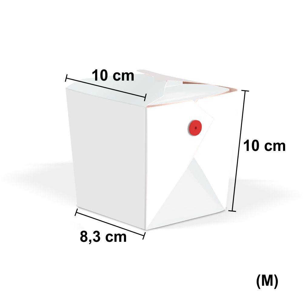 Tamanho do Box de Yaskisoba Médio