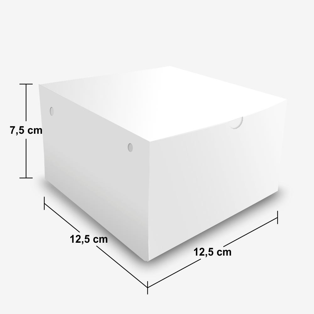 Dimensões da Embalagem Box de Lanches Grande