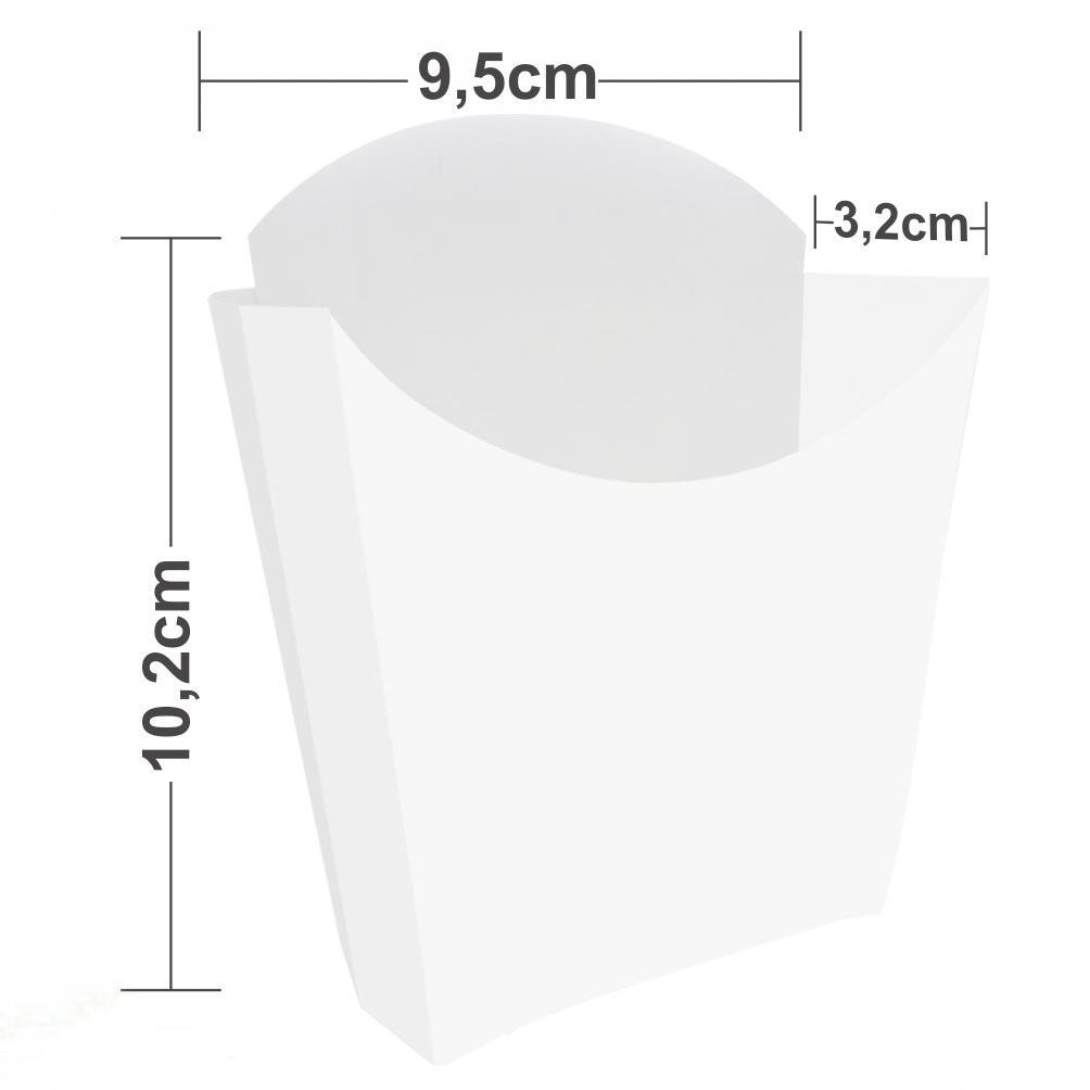 Dimensões da Embalagem de Batata Frita