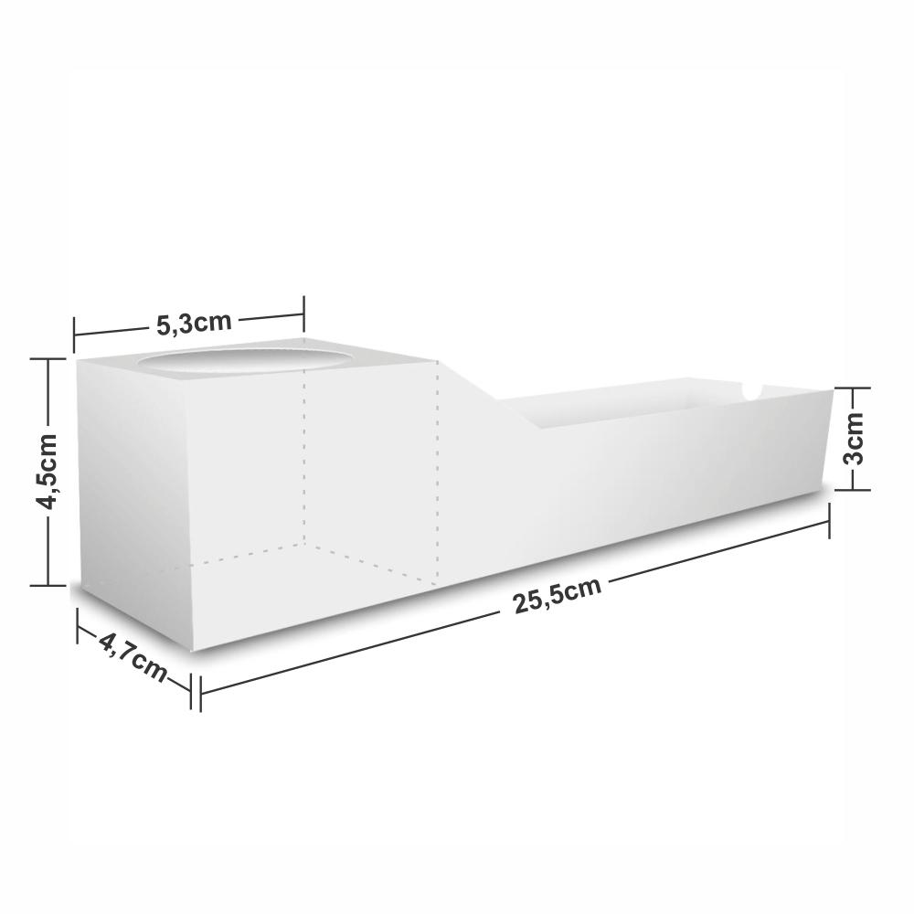 Dimensões da Embalagem de Espetinho