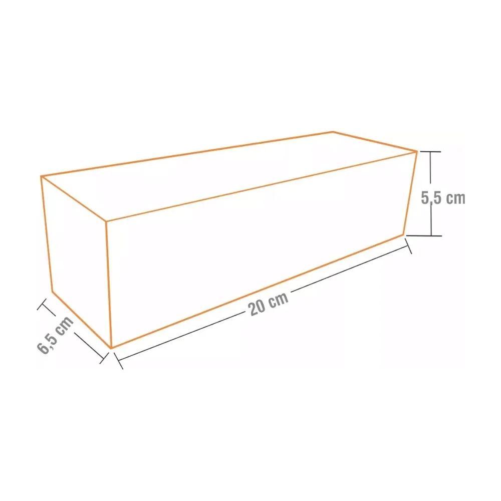 Dimensão Hot Dog 19cm