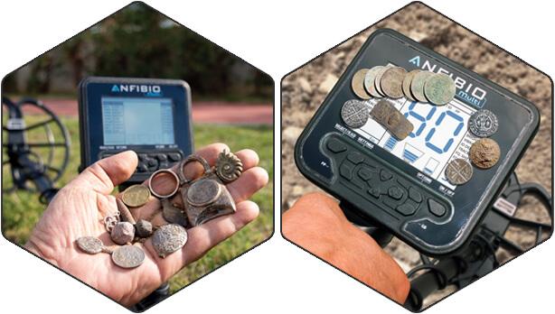 Se a detecção de metais é a sua paixão, o caminho a seguir é o Anfibio!