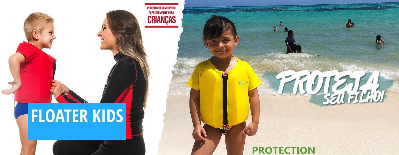 Flutuador Infantil Verde Proteção UV UPF50 + - Radical Peças - Peças ... 9178d1f6521