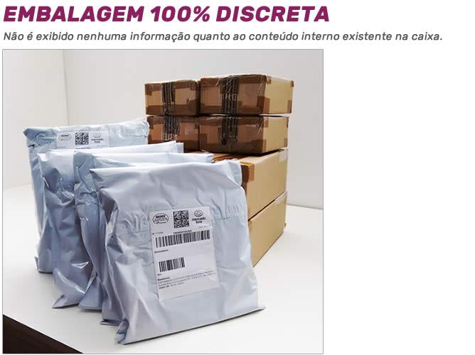 Embalagem Discreta - Estillo Sedutor