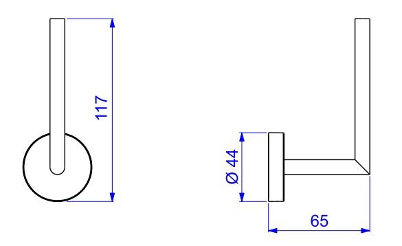 Papeleira de parede vertical 2023 disco cromado deca condec premium confira abaixo as dimenses da papeleira 2023 c dsc disco ccuart Choice Image