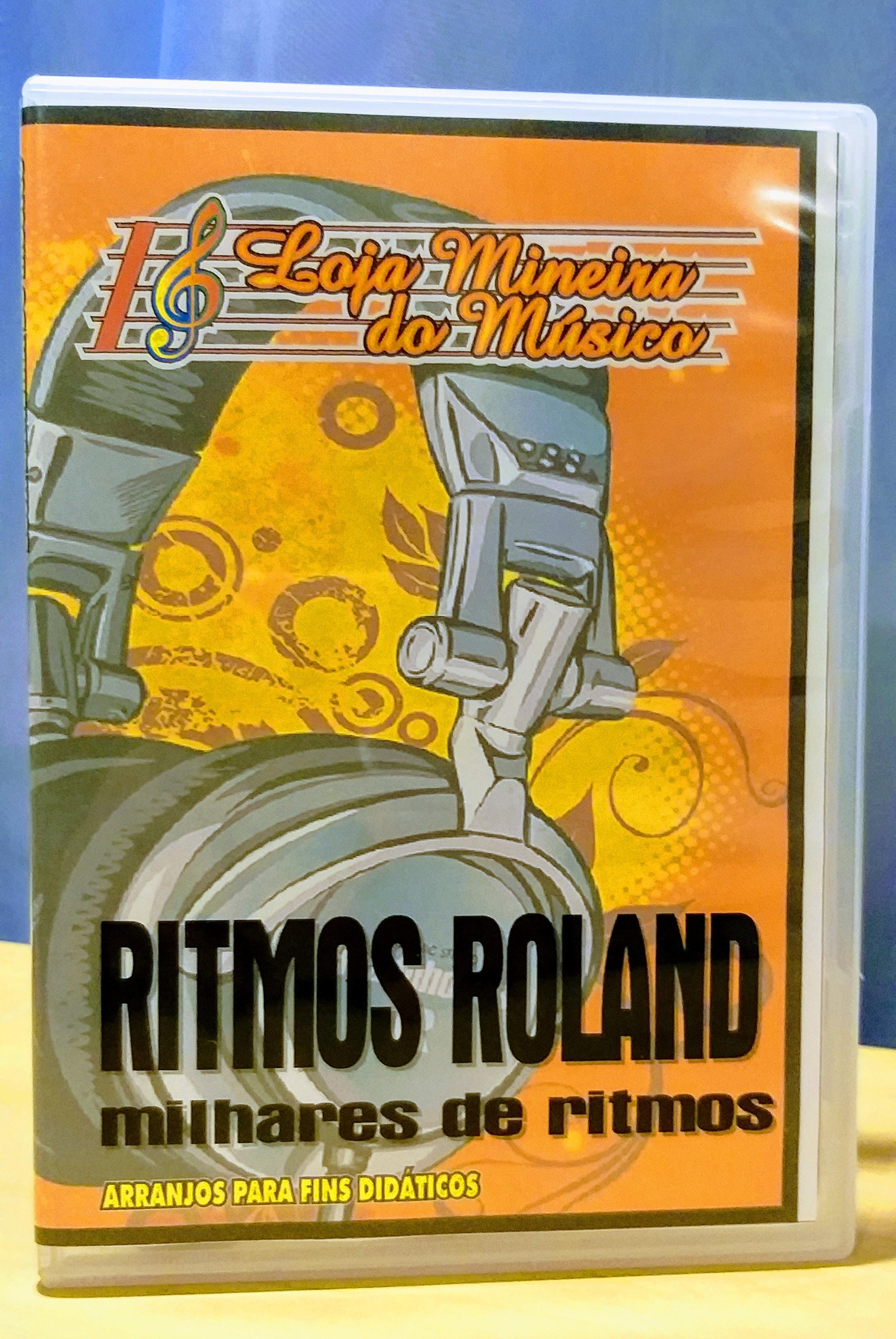 Milhares de Ritmos Roland Super Ritmos Mega Ritmos Roland da Loja Mineira do Musico