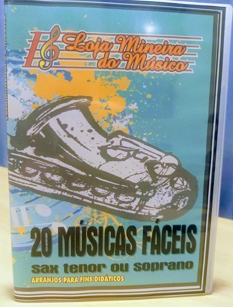 Iniciante no Sax Soprano Vinte Músicas Fáceis Sax Soprano