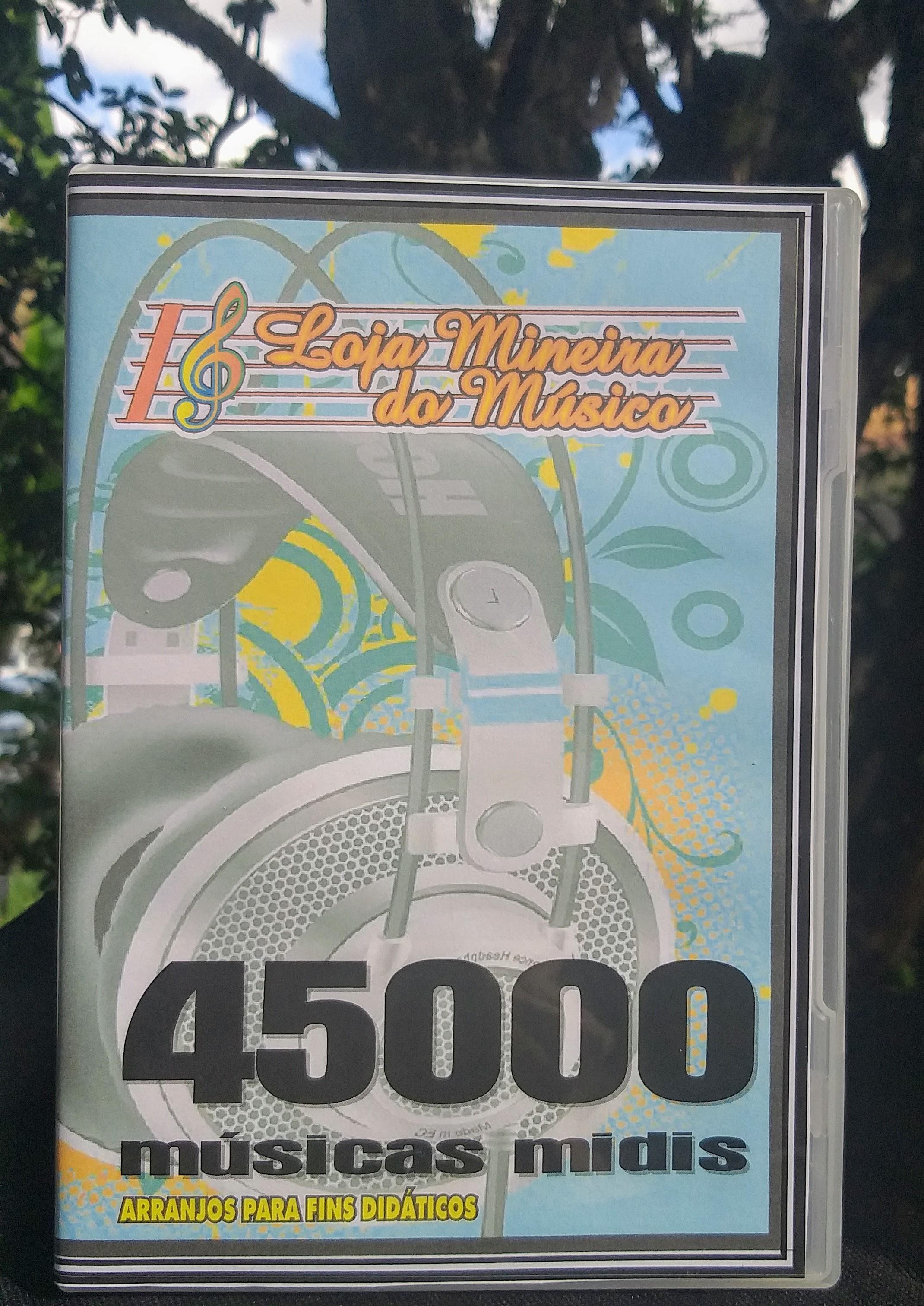 45000 midis Aqui você vai encontrar excelentes sequências MIDI para o seu teclado