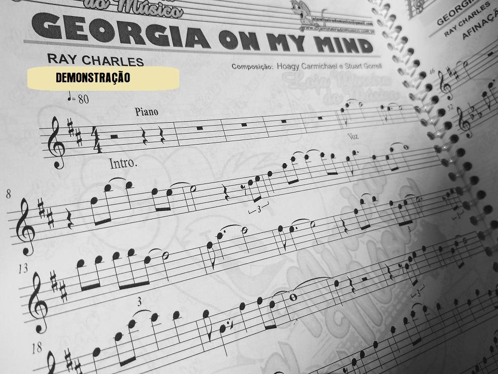 Dezenas de partituras para sax musicas internacionais