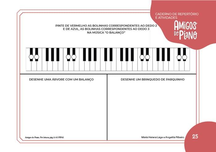 Método infantil de piano Compre online Método infantil para Piano, na Loja Mineira do Músico